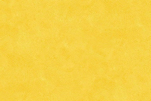Quilting Cotton - Makower - Dimples - Nugget - 2/1867Y22 - Yellow