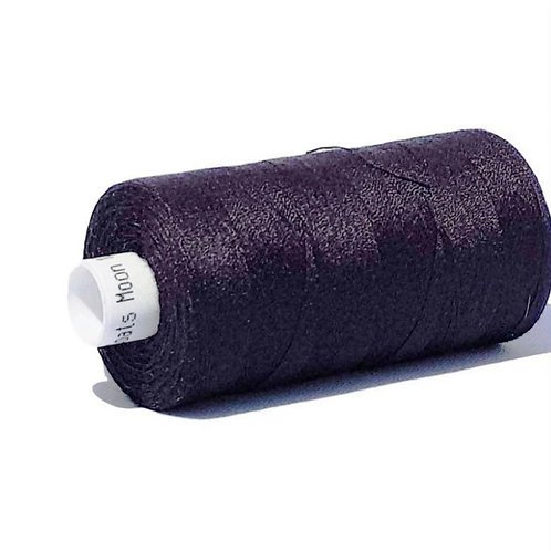 Moon Polyester Sewing Thread 1000yds - black