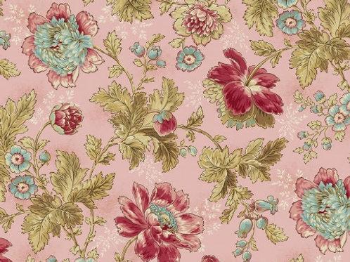 Quilting Cotton - Makower - Andover - Edyta Sitar - Superbloom - Tuberose 2/9446