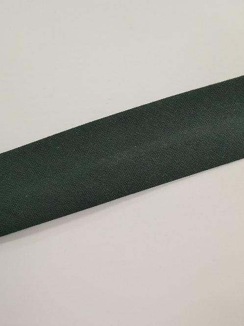 25mm Green polycotton bias binding