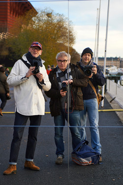 shoot in Scandinavia Rob, Jack & me