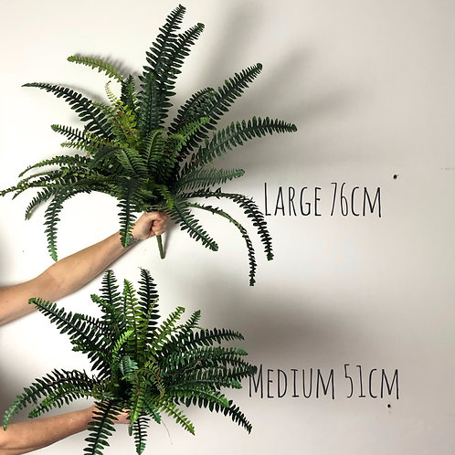 Faux Boston Fern 51cm