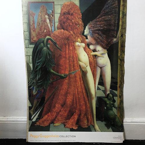 """Max Ernst """"Toilette De La Mariee """" Vintage Print"""