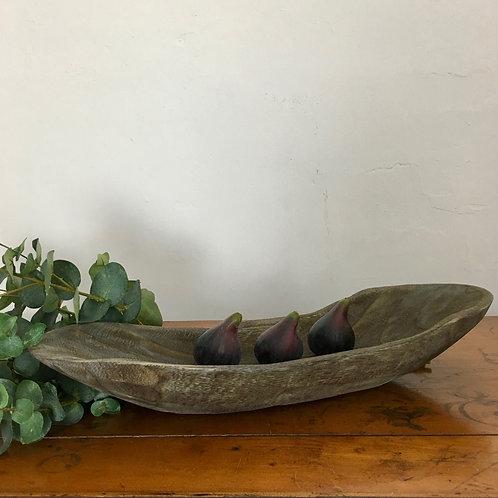 Rustic Wooden Dish