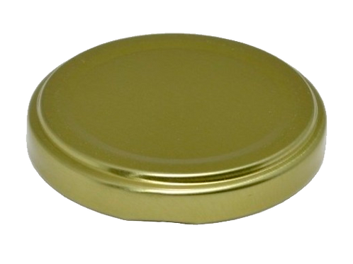 Tampa 53mm ( dourada e branca)