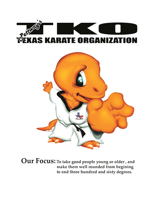 Our focus for Pettway's Texas Karate Organization