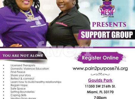 You Are Not Alone /DV Support Group 2.15.18