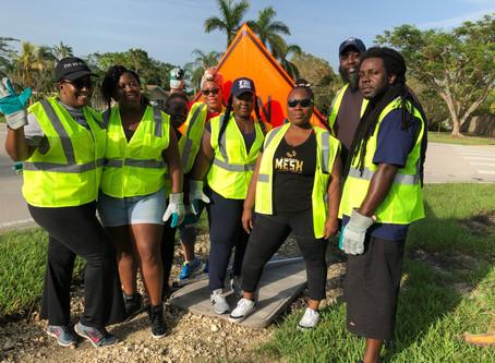 Partnership with Miami-Dade County Adopt-a-Road Program