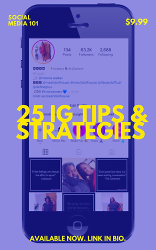 25 IG Tips and Strategies (eBook)