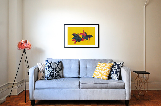 How to use an Original Modern Painting to Enhance Your Home DÉCOR?