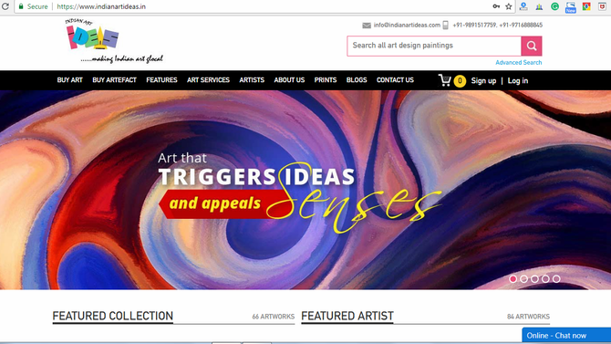 Some of the Best Indian Online Art Galleries