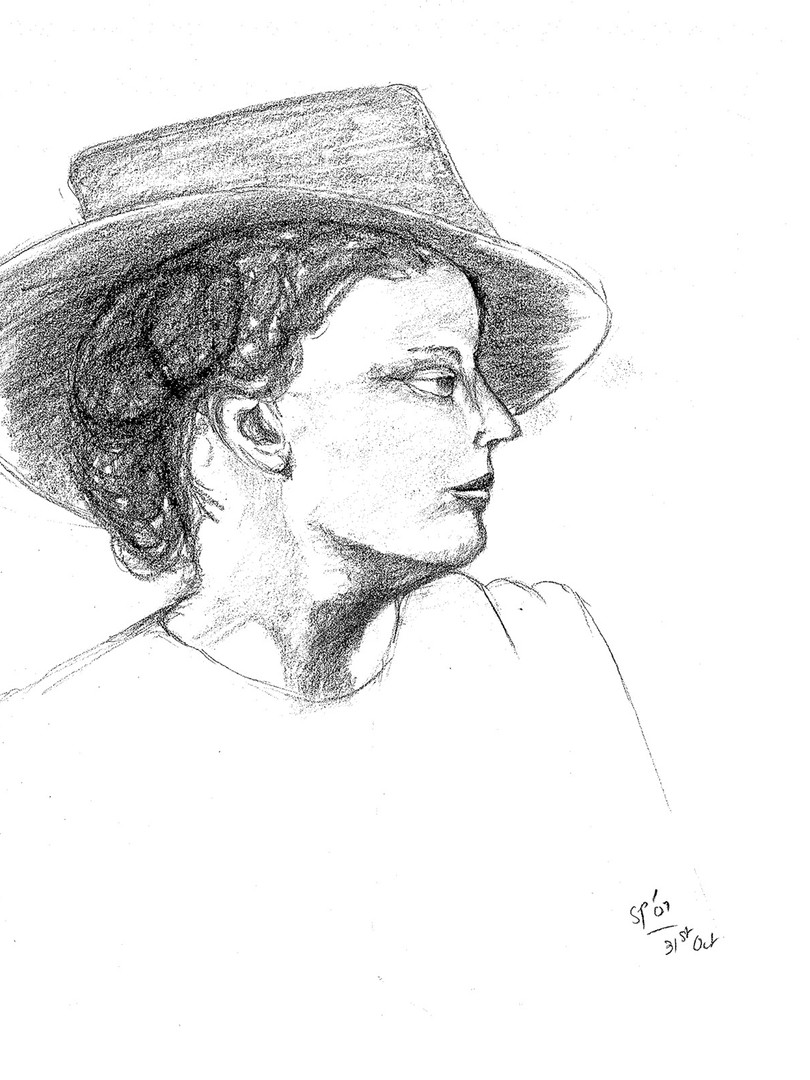 Sophisticated lady with hat.jpg