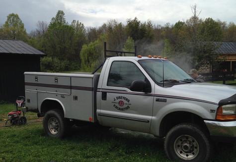 J. Dreyer's Excavating Service Truck