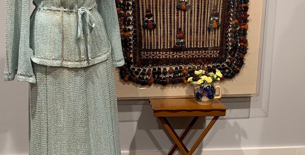Mary Farrin Knit Skirt Set