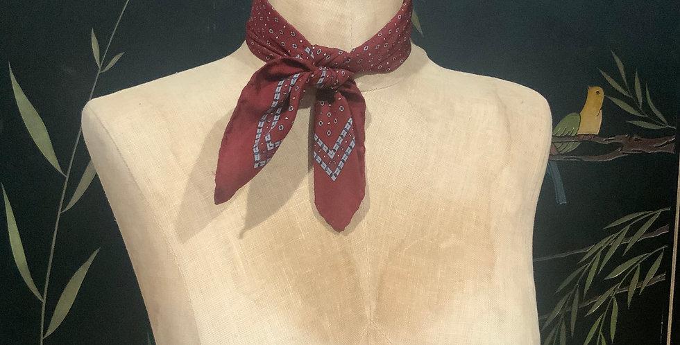 Vintage Silk Bandana