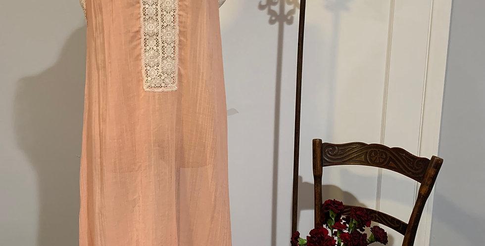 Vintage Cotton Gauze Dress
