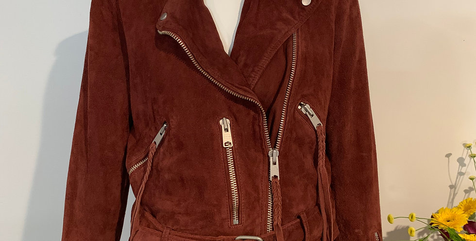 All Saints Suede Moro Jacket