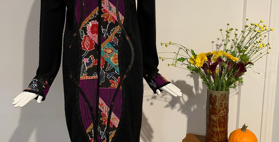 Vintage Koos of Course by Koos Van Den Akker Knit Sweater Coat