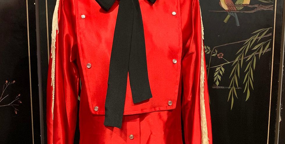 1950's Satin Western Shirt