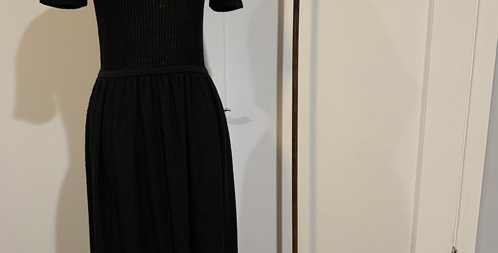 Chloe Ribbed Knit Maxi Dress
