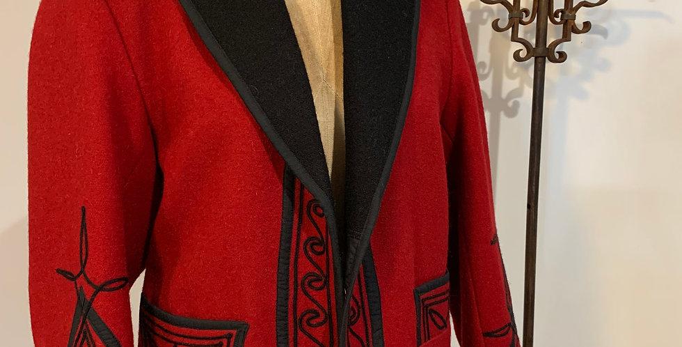 Wool Bolero Jacket