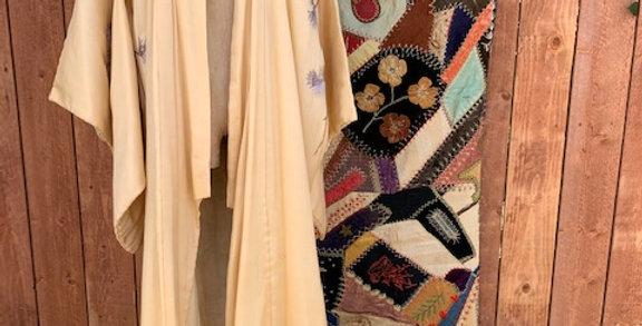 Vintage 1930's Silk Kimono