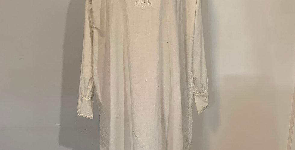 Vintage French Cotton Night Dress