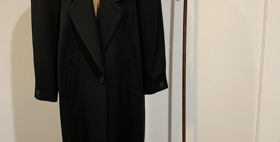 Vintage Black Overcoat