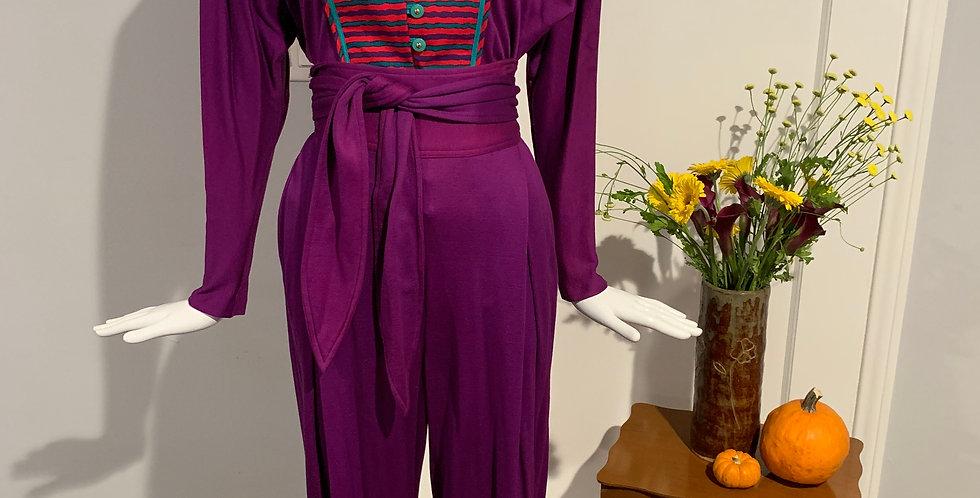 Vintage Jeanne Marc Pant Set