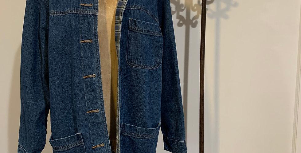 Vintage Denim Smock Jacket