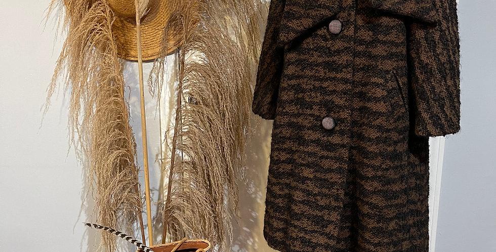 Vintage 1950's Wool Coat