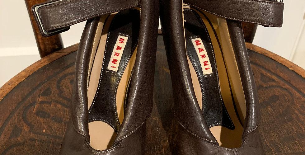 Marni Leather Booties