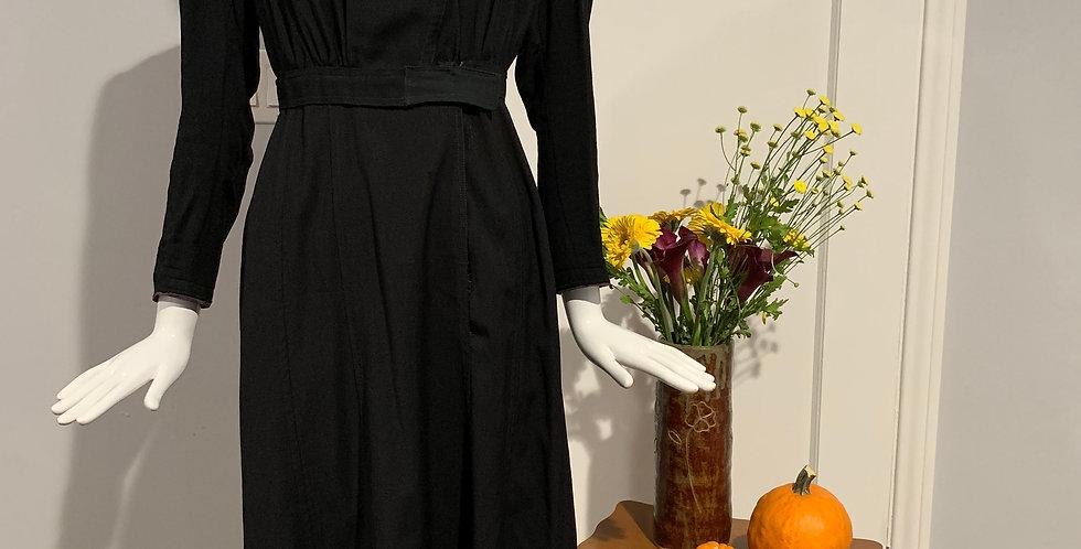 Edwardian Mourning Dress