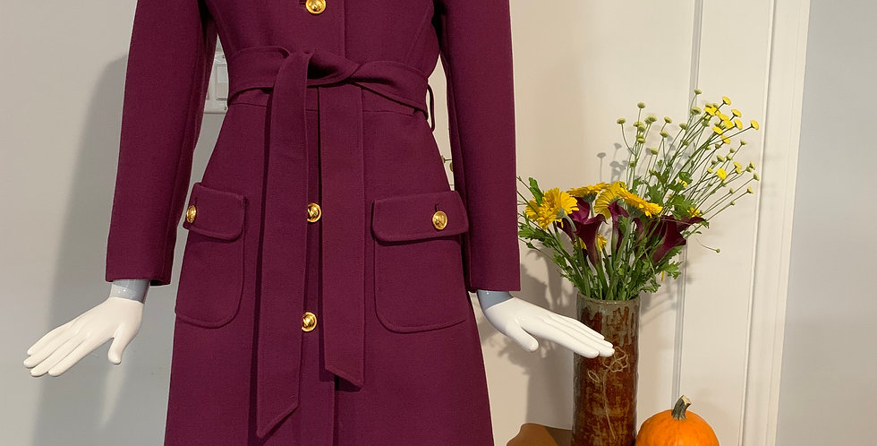 Rare Valentino TWA Uniform Coat