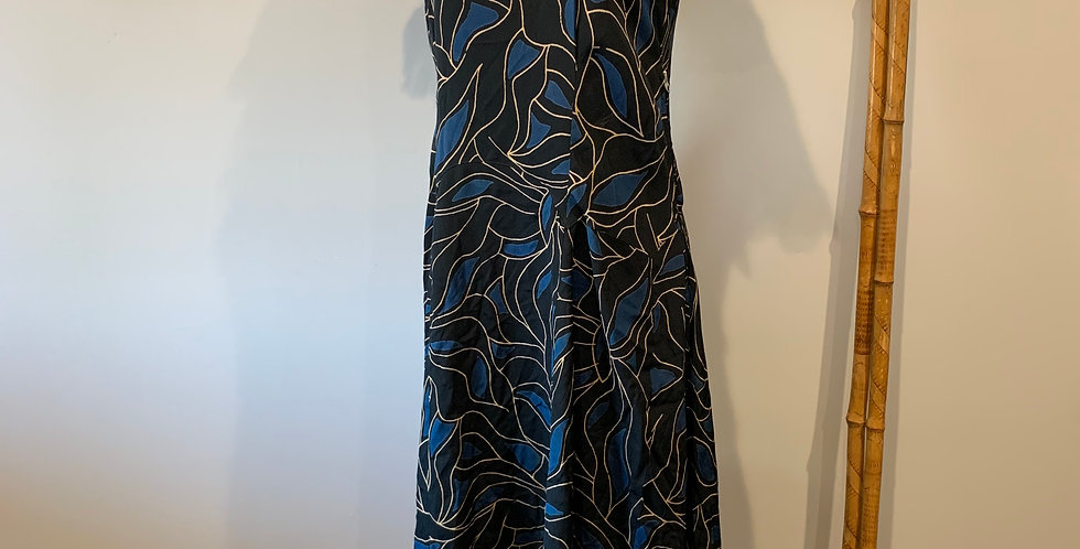 1940's Rayon Day Dress