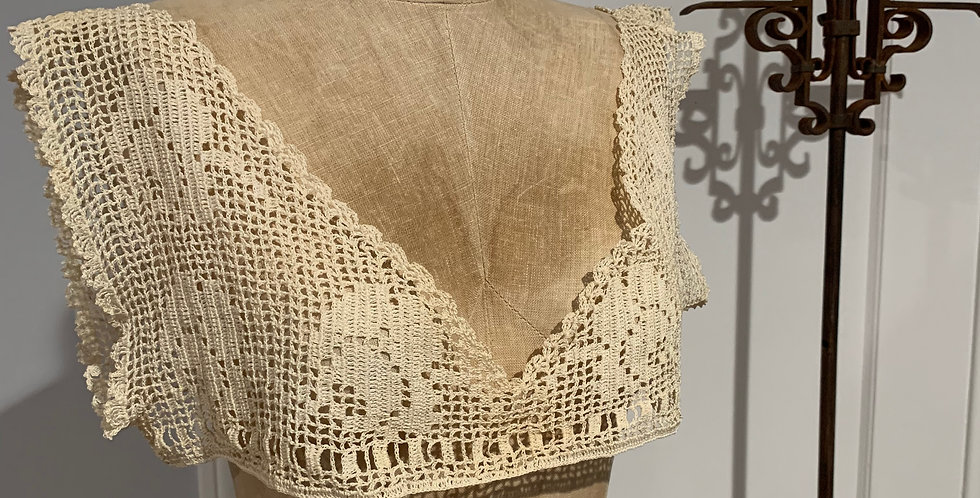 Antique Lace Corset Cover