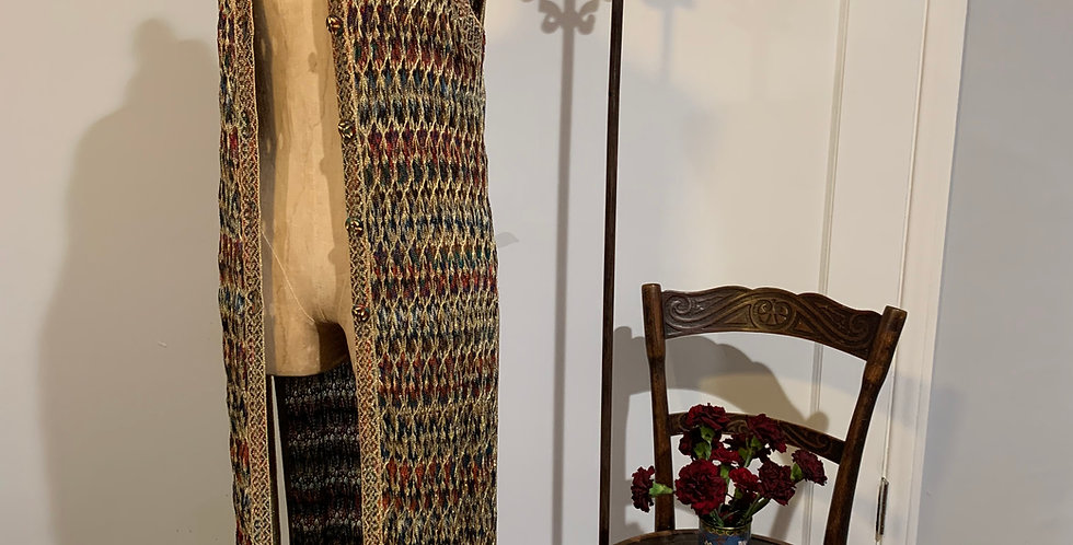 Missoni Gold Lurex Duster Dress