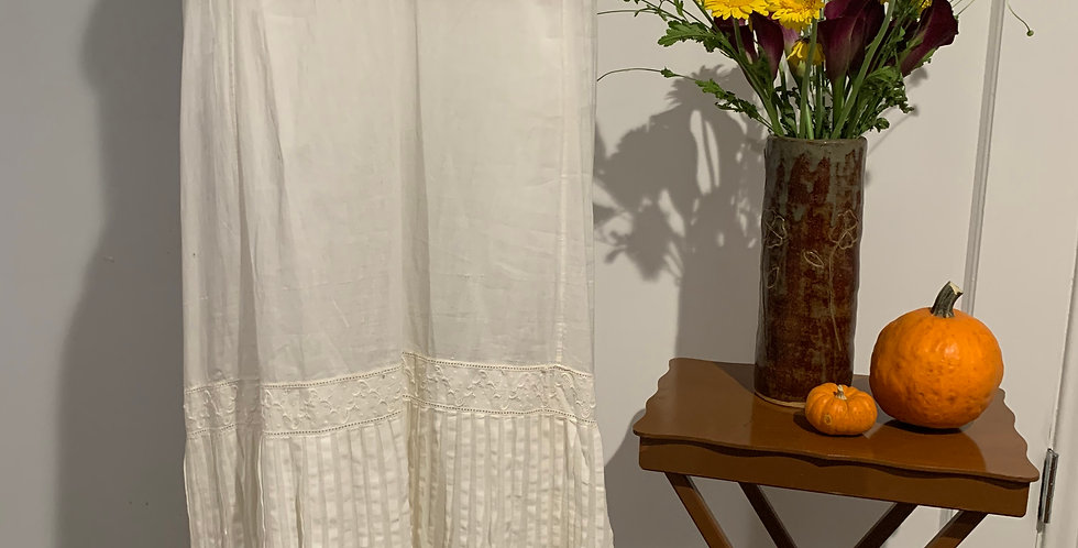 Antique Petticoat Skirt