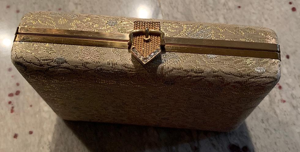 Antique Brocade Box Clutch