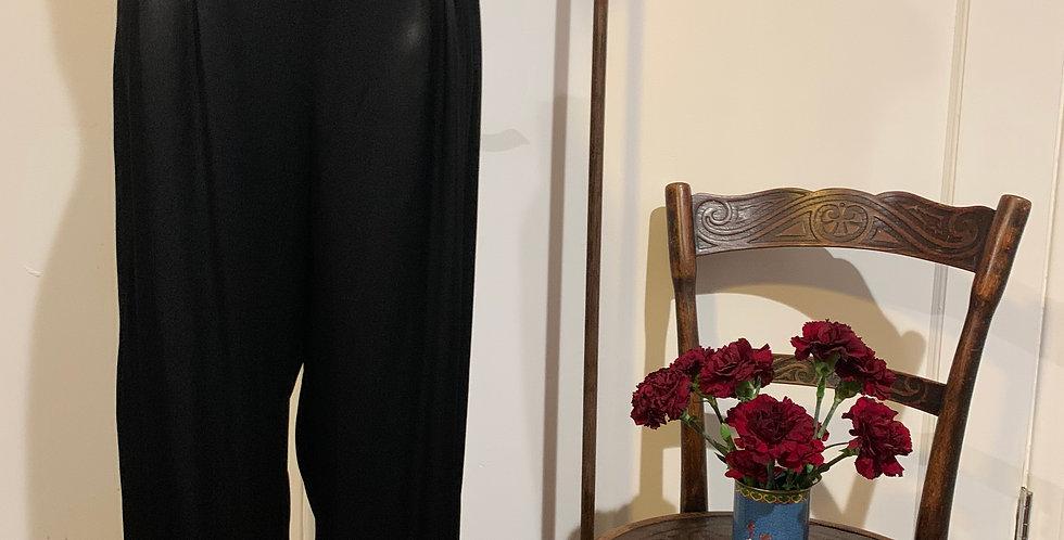 Vintage Satin Trousers