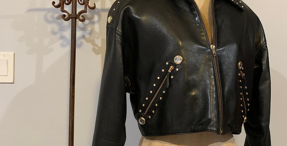 Issac Mizrahi Leather Jacket