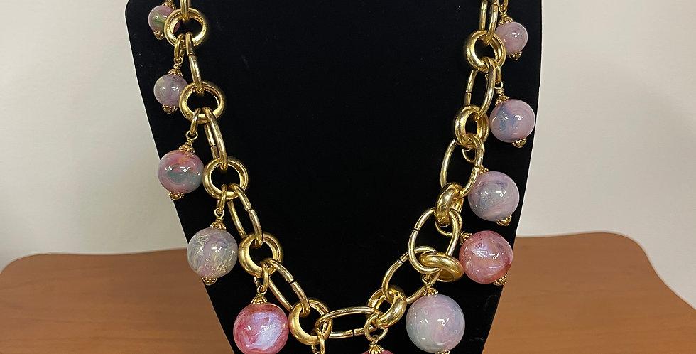 Pastel Bauble Necklace