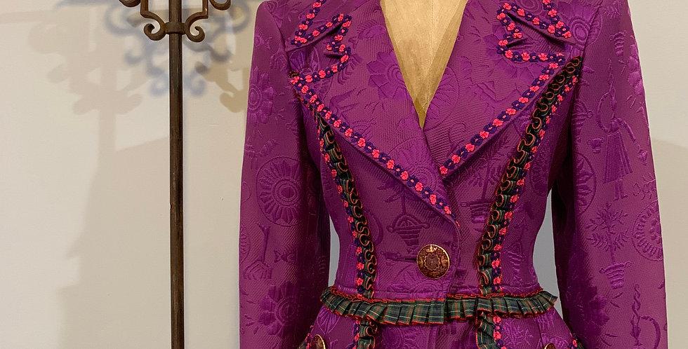 Vintage Cristian Lacroix Skirt Suit