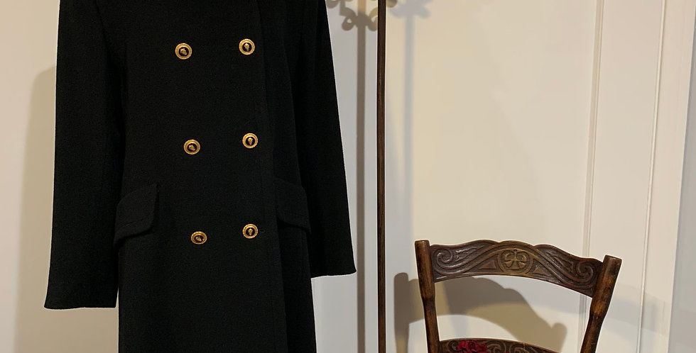 Vintage Cashmere Sailor Coat