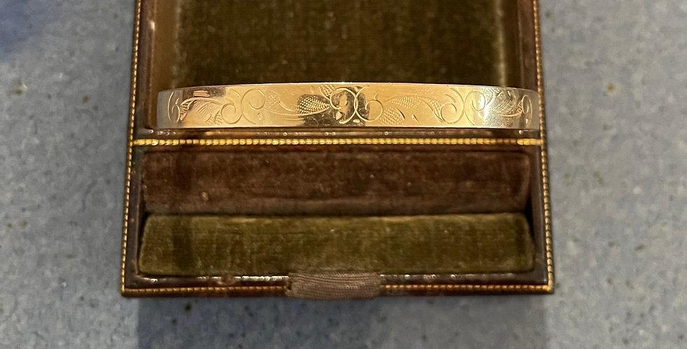 Vintage 12K Gold Filled Bangle