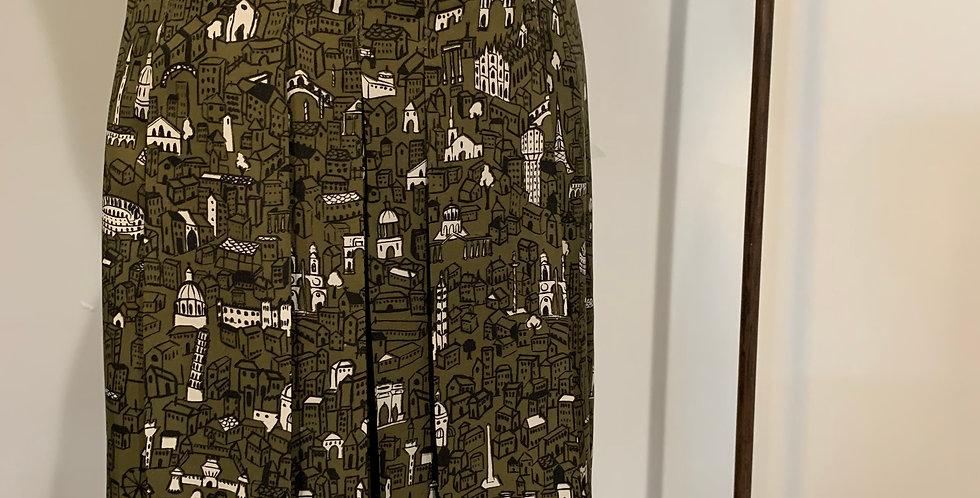 Moschino Silk Skirt