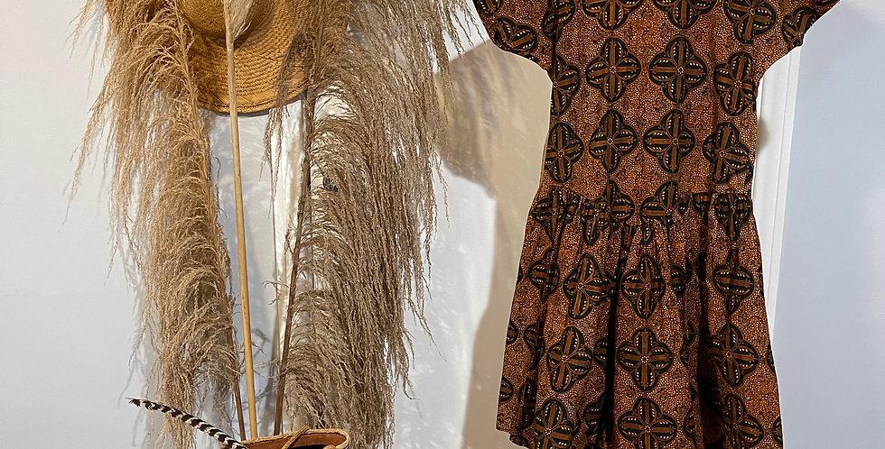 Batik Print Romper