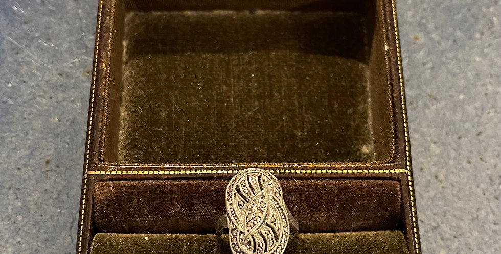 Victorian Sterling Silver Ring