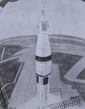 Skylab 3 Liftoff