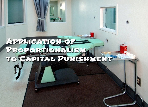 Application of Proportionalism to the Issue of Capital Punishment (film 4)
